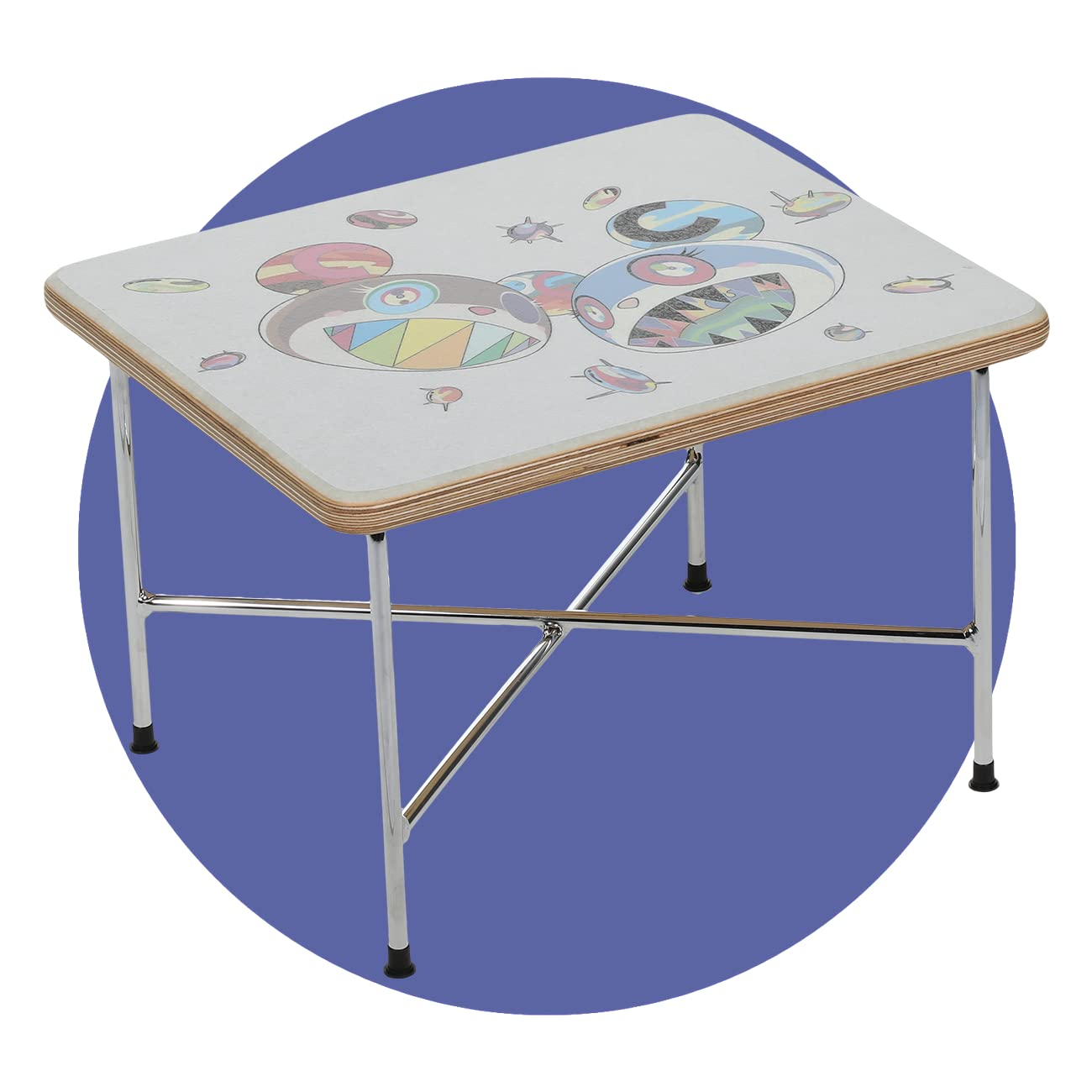 ComplexCon Takashi Murakami x Modernica TMKK Side Table - PreSale