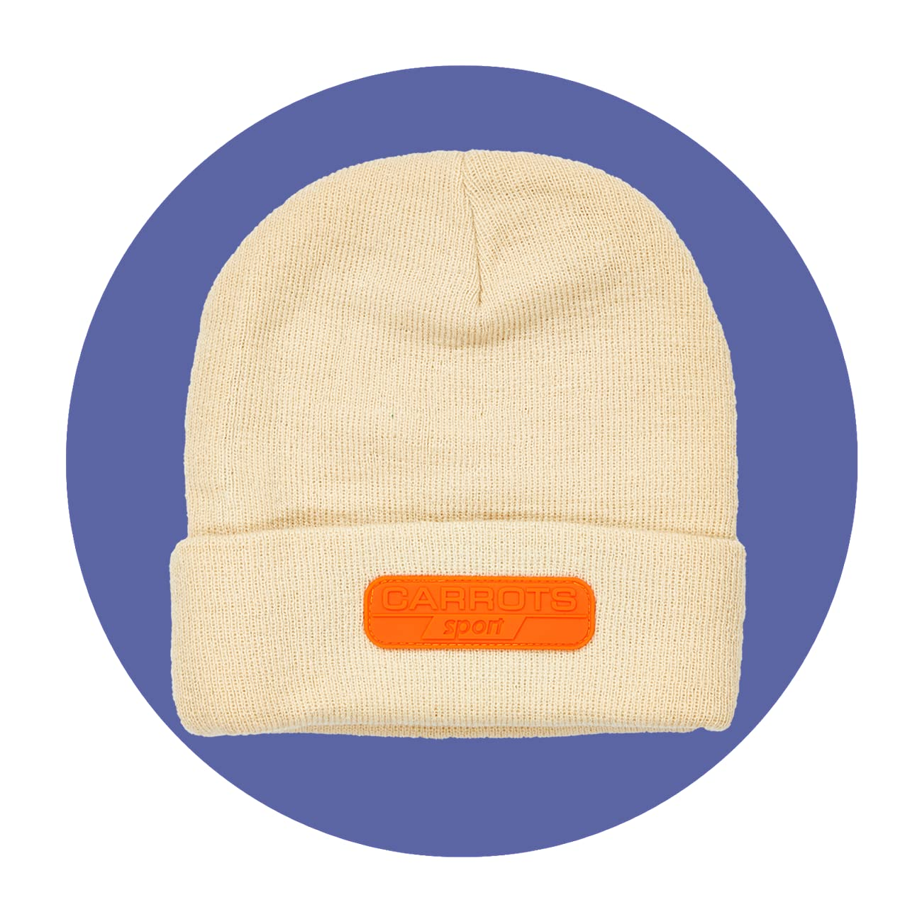 Carrots By Anwar Carrots Sport Rubber Patch Beanie