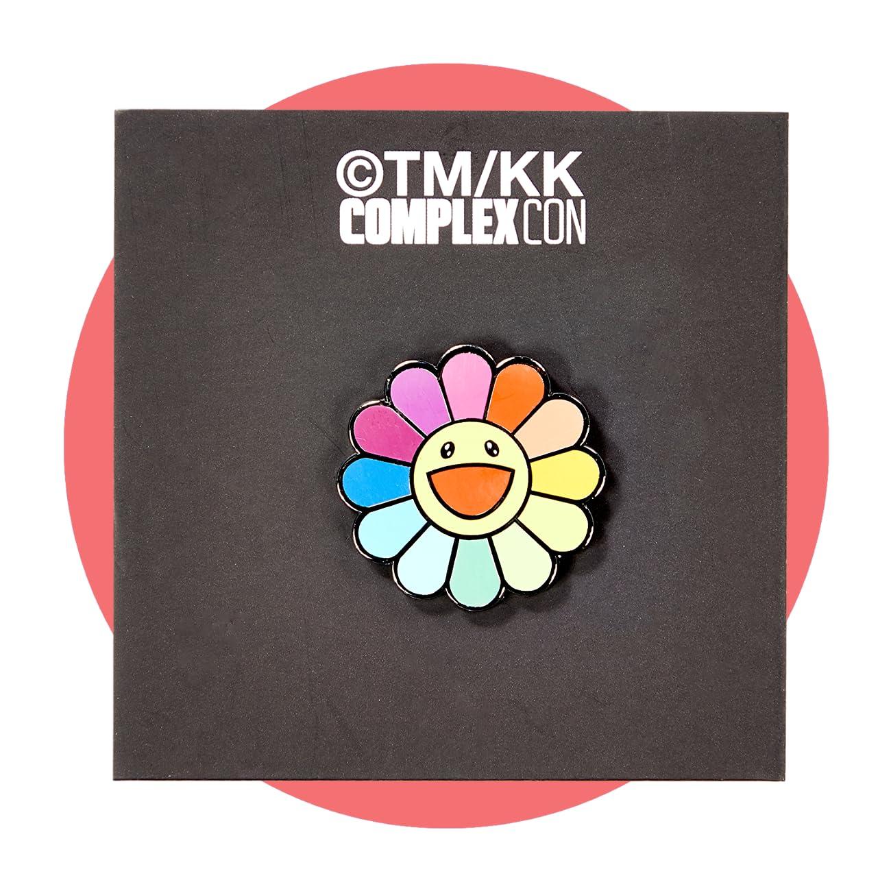 ComplexCon Takashi Murakami Classic Flower Pin