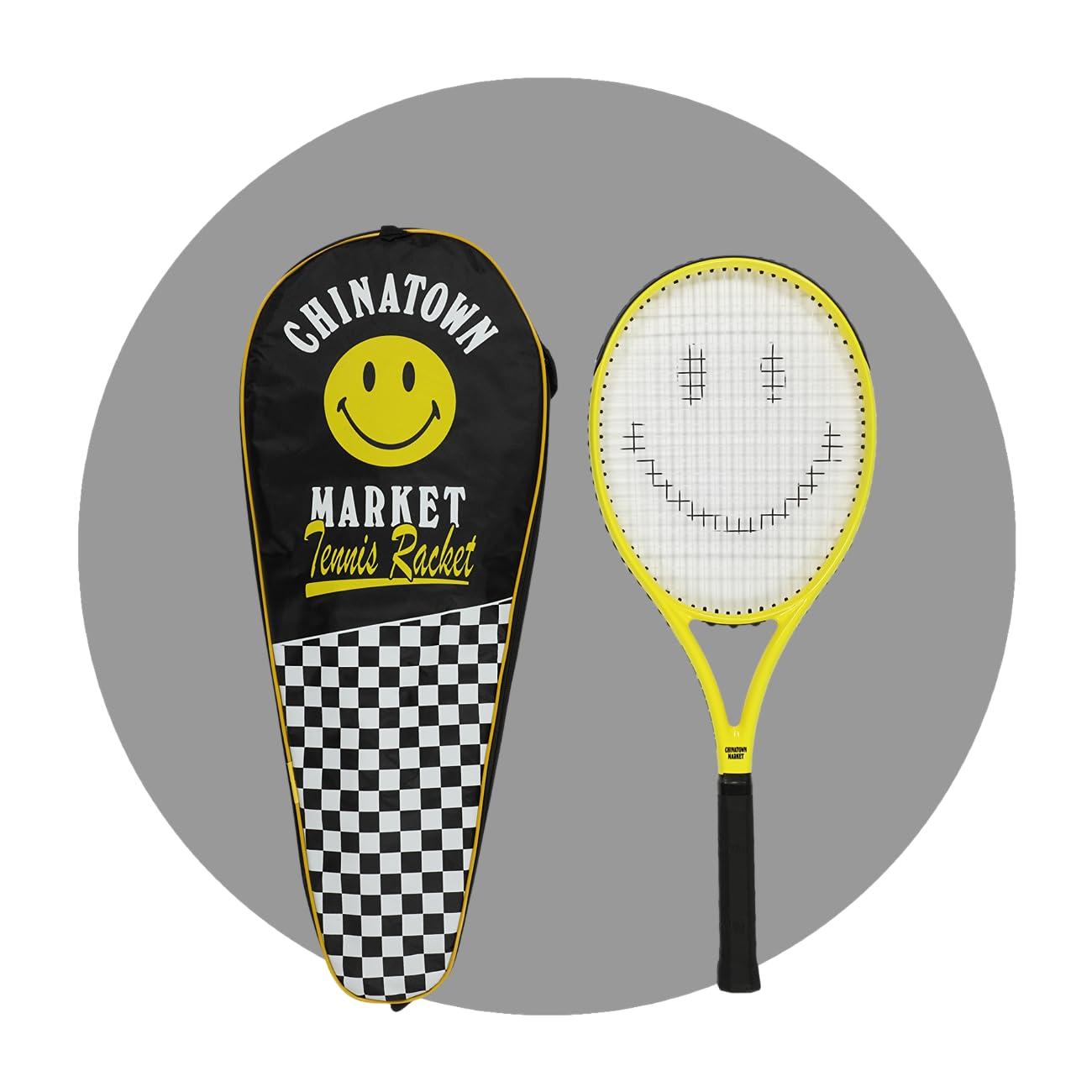 Chinatown Market Smiley Tennis Rackets