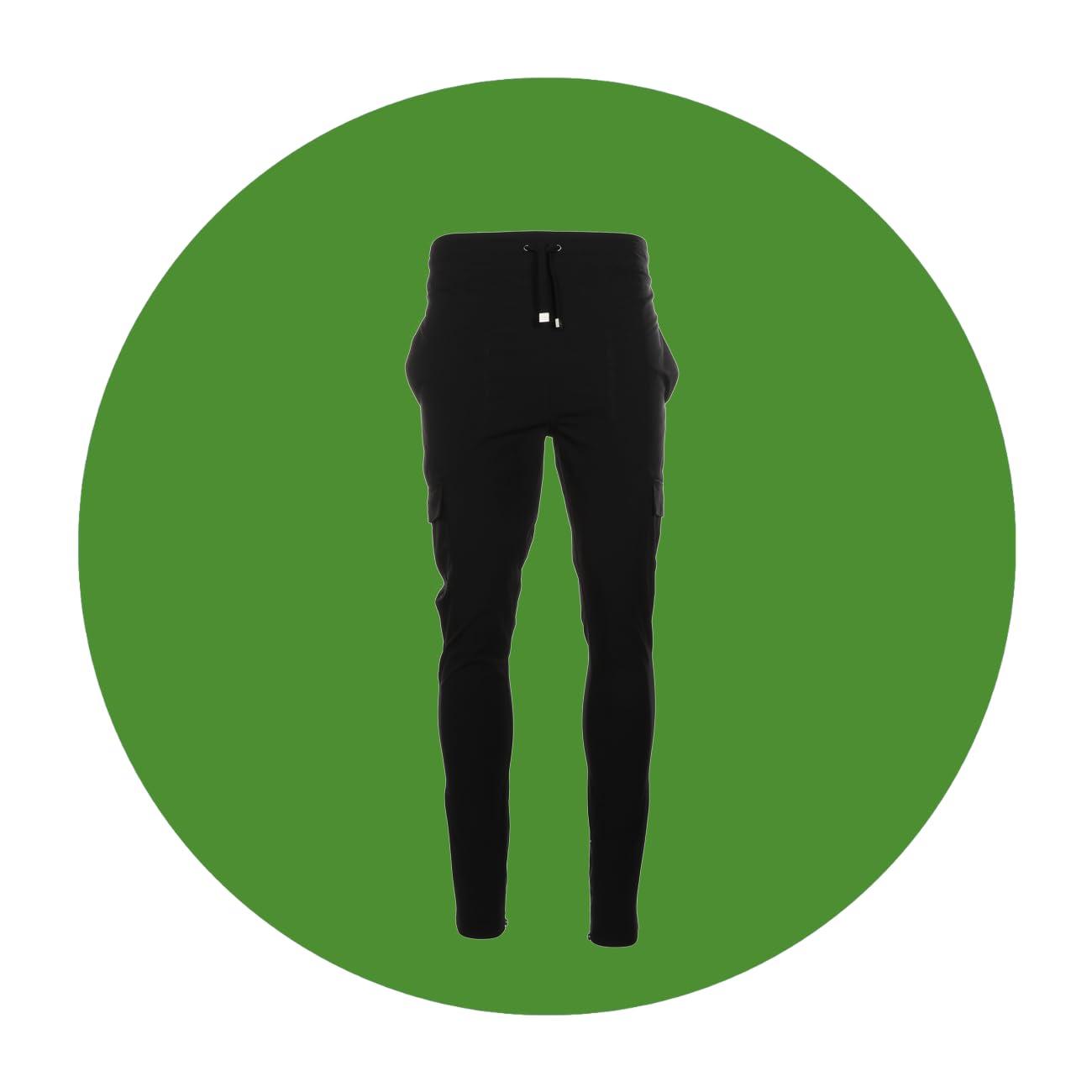 I LOVE UGLY Zespy Mid-Rise Militia Pants