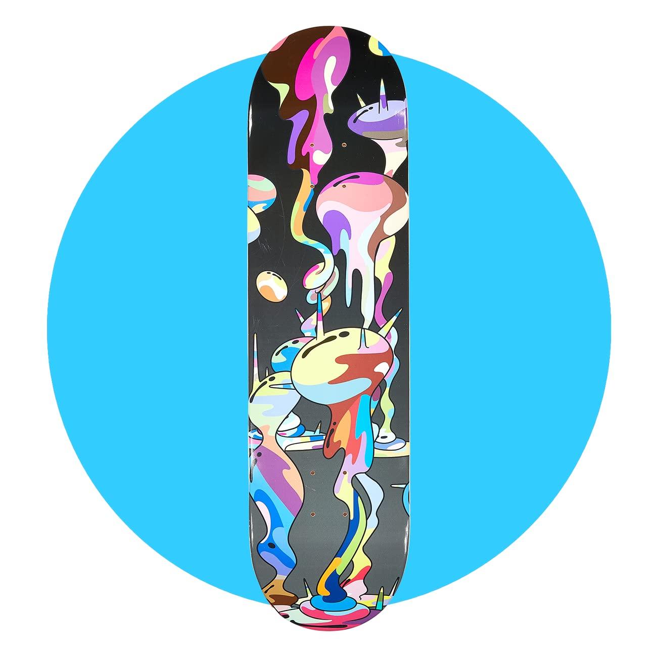 ComplexCon Takashi Murakami Skate Deck - Polluted
